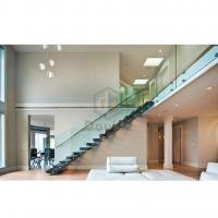 Wholesale modern straight staircase/metal stair from china suppliers