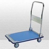 Wholesale 4-inch TPR Zinc-plated Platform Cart with Folding Handle from china suppliers