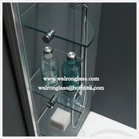Wholesale Bathroom Glass Shelf Tempered Toughened Glass from china suppliers