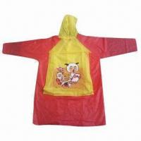 Wholesale Poncho, made of PVC from china suppliers
