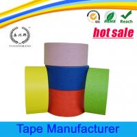 China Automotive paint crepe paper colored masking tape on sale