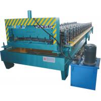 Wholesale Thickness 0.3 - 0.7mm Roofing Sheet Making Machine Working Speed 0 - 20 M / Min from china suppliers