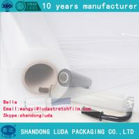 Wholesale LLDPE Shrink stretch Wrap Film for Pallet clear wrapping film from china suppliers