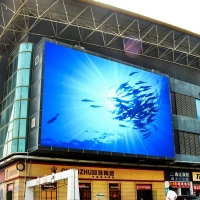 Wholesale High defination SMD Outdoor P6 advertising LED screen on shopping mall entrance from china suppliers