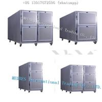 Wholesale 304 SS Hot Sale Mortuary Refrigerator in Kenya  Stainless Steel Mortuary Refrigerator with Six Body Chamber from china suppliers