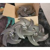 Buy cheap Goulds 3196 parts XLT impeller for ANSI chemical process pump from wholesalers