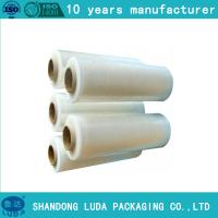 Wholesale 15/17/20mic China Supplier of LLDPE Manual pallet wrap film from china suppliers
