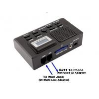 Quality 1 CH Telephone Call Recording Box SD Card Phone Line Voice Recorder for sale