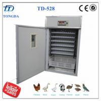 Wholesale TD-528 full automatic chicken egg incubator from china suppliers