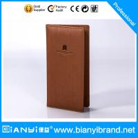 Wholesale Luxury stars hotel PU leather products with printing logo from china suppliers
