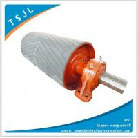 Wholesale Drive roller with rubber lag, drive pulley with rubber lag from china suppliers