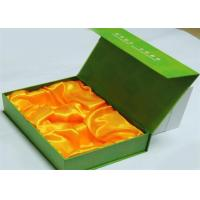 Wholesale Promotional Handmade Printed Gift Boxes Green Color , retail packaging boxes from china suppliers