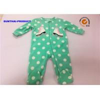 Wholesale Skating Shoes Applique Baby Pram Suit Big Dot AOP Long Sleeve Coverall from china suppliers