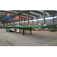 Wholesale 40ton 12R22.5 Q345B Container Semi Trailer Tractor from china suppliers