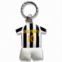 Wholesale Keychains, Various Styles are Available, Measures 6.5 x 0.4cm, Weighs 22g from china suppliers