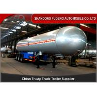 Wholesale 59700 Liters 25 Ton LPG Tank Trailer With 20% Vapor Space ,  LPG Transport Trailer from china suppliers