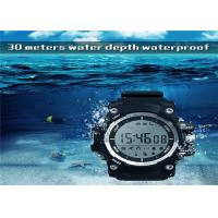 Buy cheap Sport Health LED Smart Watch 1.1 Inch LCD Display Remote Control Camera TPU from wholesalers