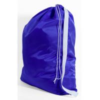 Wholesale 420D polyster purple laundry bag with adjustable strap from china suppliers