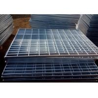 Wholesale Electro Galvanized Metal Grating 25 X 3mm Oil Proof For Building Material from china suppliers