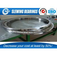 Wholesale Chrome Steel Thin Skf Cross Roller Bearing , Cross Ball Bearing Slewing Ring With Inner Ring Rotation from china suppliers