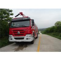 Wholesale Dimension 10970×2480×3900mm Fire Pumper Truck , Pump Flow 100L/S Fire Fighting Vehicles from china suppliers