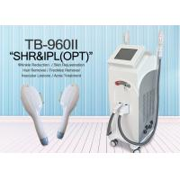 Buy cheap IPL SHR Elight With 10*50 And 15*50 Spot Size Two System  Hair Removal Machine from wholesalers