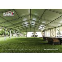 Wholesale Outdoor Conference Span Width 30m Event Tent Structure With White Lining Built On Grass Land from china suppliers