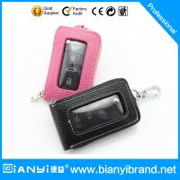 Wholesale 2015 Wholesale car logo leather key case/ key bag /keychain holder with hooks from china suppliers