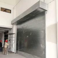 Wholesale Roll up Garage Doors Rolling Shutter Door with Motor for Commercial Building from china suppliers