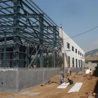Wholesale ISO Certificated Industrial Prefabricated Steel Building with Office from china suppliers