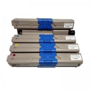 Remanufactured for OKI 44973545/ 44973546/ 44973547/ 44973548 Color Toner Cartridges