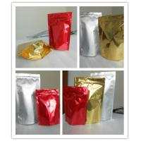 Buy cheap High Puncture Resistance Shiny Printing Stand up Bottom Gusset Plastic Pouches Packaging from wholesalers