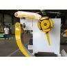 10 Ton Metal Steel De Coiler , Adjust Speed Frequency Changer Decoiling Machine