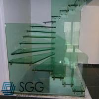 Buy cheap toughened glass factory tempered glass stair 8mm 10mm 12mm 15mm 19mm from wholesalers