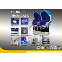 Shopping Mall Electric Arcade 9D Virtual Reality Simulator With 360 Degree Dynamic Platfrom