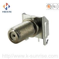 Wholesale F type connector with shield cover from china suppliers