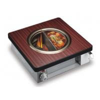 Buy cheap Half Shabu Half Barbecue Mini Oven Smokeless Oven Green Oven Hot Pot from wholesalers