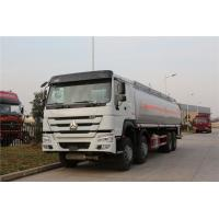Wholesale Sinotruk HOWO 8x4 Fuel Delivery Tanker For Liquid Gas Diesel Oil Transportation from china suppliers