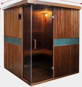 China Full Spectrum Far Infrared Sauna Cabin , Canadian Cedar Garden Dry Heat Sauna on sale