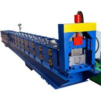 Wholesale CE / SGS / ISO Low Noise Gutter Roll Forming Machine With Touch Screen from china suppliers