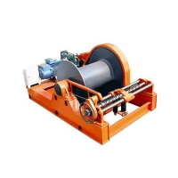Wholesale 15M/Min Wire Rope Construction Electric Capstan Winch from china suppliers