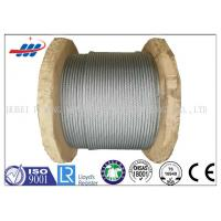 Wholesale Galv Elevator / Aircraft Wire Rope Zinc Coated With 1570-1960MPA Tensile Strength from china suppliers