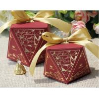 Wholesale Chocolate Food Gift Boxes Packaging , Square Paper Food Presentation Boxes from china suppliers