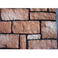 Wholesale Lightweight Faux Stone Panels Interior Wall , Faux Veneer Stone For Villa / Hotel Hall from china suppliers