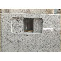 Wholesale Giallo Sf Real Solid Granite Worktops For Kitchen / Bathroom White Color from china suppliers