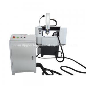 Half Closed Metal Mold CNC Engraving Machine 4 Axis