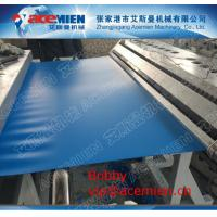 Wholesale Bright Color PVC Foamed Roofing Sheet Making Machine , PVC Corrugated Roll Forming Machine from china suppliers