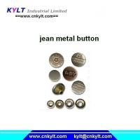 Buy cheap KYLT PLC full auto jean metal(Zinc/Zamak) button Pressure Injection machine from Wholesalers