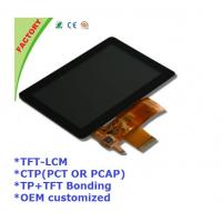 "Buy cheap 5"" Touch screen panel and LCM and optical bonding for Industrial control device from Wholesalers"