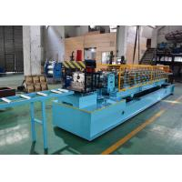 China Post Cutting Post Punching CZ Purlin Roll Forming Machine , C Steel Frame Machine on sale
